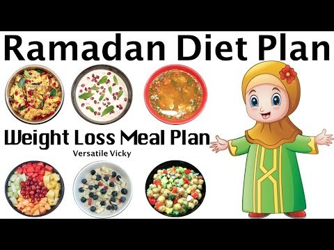Ramadan Diet Plan To Lose Weight | Ramzan Meal Plan For Weight Loss | Lose Weight 20 Kgs in 30 Days