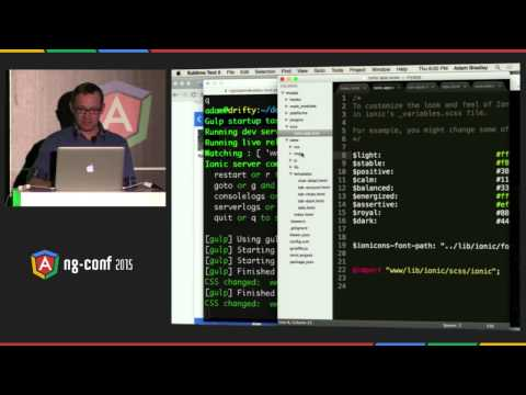Ionic and Angular Superpowers for Mobile App Development – Adam Bradley