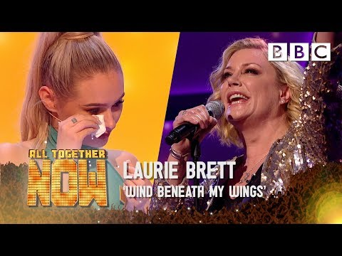Talia Mar moved to tears as EastEnders star Laurie Brett sings for her mum - All Together Now