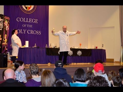 Science Show at College of the Holy Cross 3 28 2014