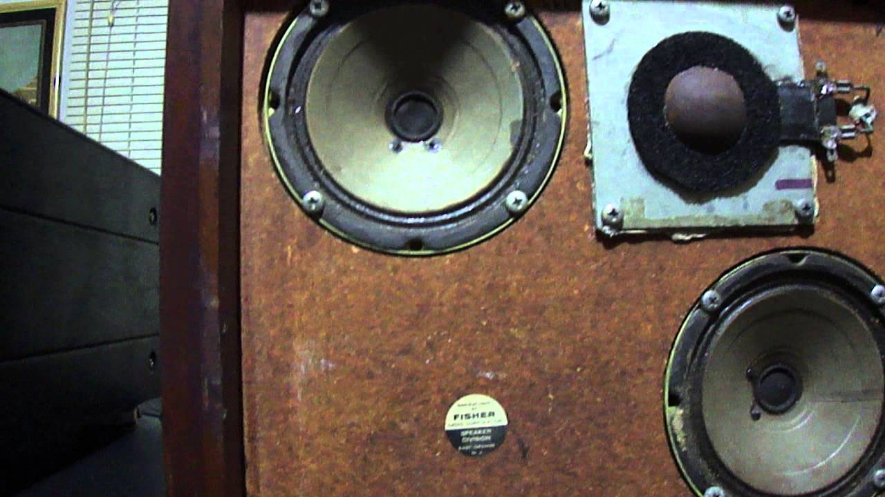 lungyim~FISHER XP-7 VINTAGE SPEAKERS - YouTube
