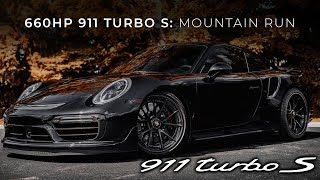 Driving Tuned 660HP 911 Turbo S