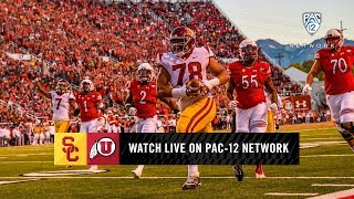 First half highlights: Utah holds 20-14 lead over USC