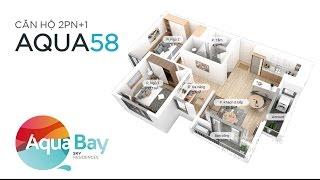 ECOPARK - Căn hộ Aqua 58 m2 - Aqua Bay Sky Residences