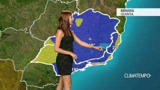 Previsão Sudeste - Alerta para chuva volumosa em SP,RJ e BH