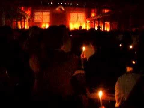 Evening prayer at Zagreb - Taize (celebration of light)