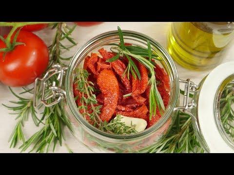 Tomaten trocknen & einlegen | Tomatenpesto