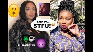Princess tells Brandy to STFU with the Fake Apology  Brandy DELETES it