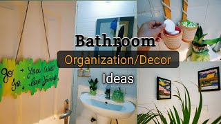 Super Stylish Bathroom Decor/Organiser Ideas|| Budget Friendly Decor || Bathroom Makeover Part 1
