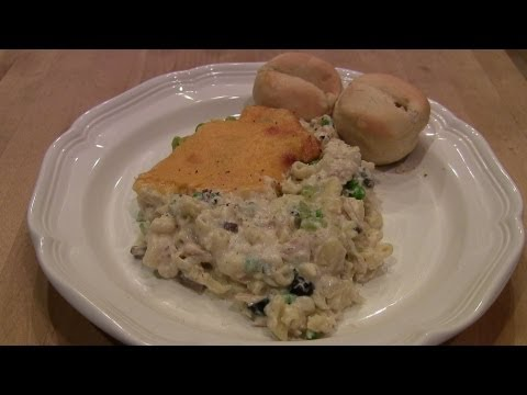 Tuna Casserole Homemade