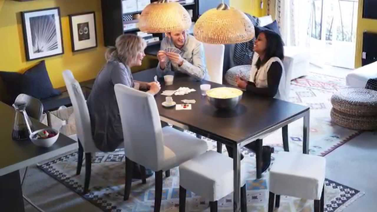 & HENRIKSDAL Dining Chairs - IKEA Home Tour - YouTube