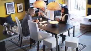 Henriksdal Dining Chairs - Ikea Home Tour