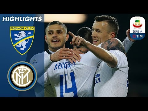 Frosinone 1-3 Inter | Inter boost third place hopes with win at Frosinone | Serie A