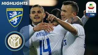 Download Frosinone 1-3 Inter | Inter boost third place hopes with win at Frosinone | Serie A Mp3 and Videos