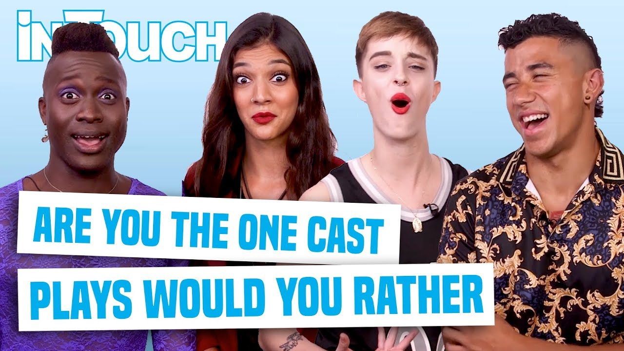 Are You The One Sexually Fluid Season 8 Cast Plays Would You Rather With  MTV Stars