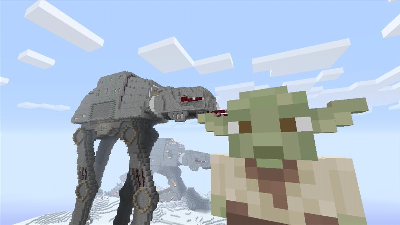 Minecraft Xbox 360 Star Wars Skin Pack Full