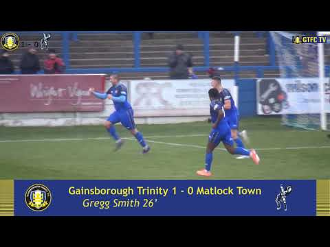 Gainsborough Matlock Goals And Highlights
