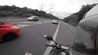 yamaha mt 07 0 100   0 top speed   vs ford fiesta st