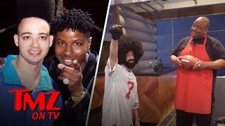 Colin Kaepernick's Shade-y Impostor | TMZ TV
