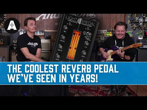 A Genuine Spring Reverb Built By Mad Scientists?! - Gamechanger Audio Light Pedal