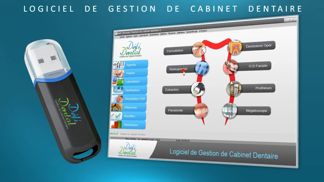 Logiciel de gestion de cabinet dentaire d fi dental youtube - Application gestion cabinet dentaire ...
