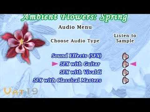*# Streaming Online Ambient Flowers: Spring - The Ultimate Video Garden & Reference DVD