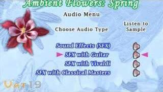 Ambient Flowers: Spring DVD Trailer