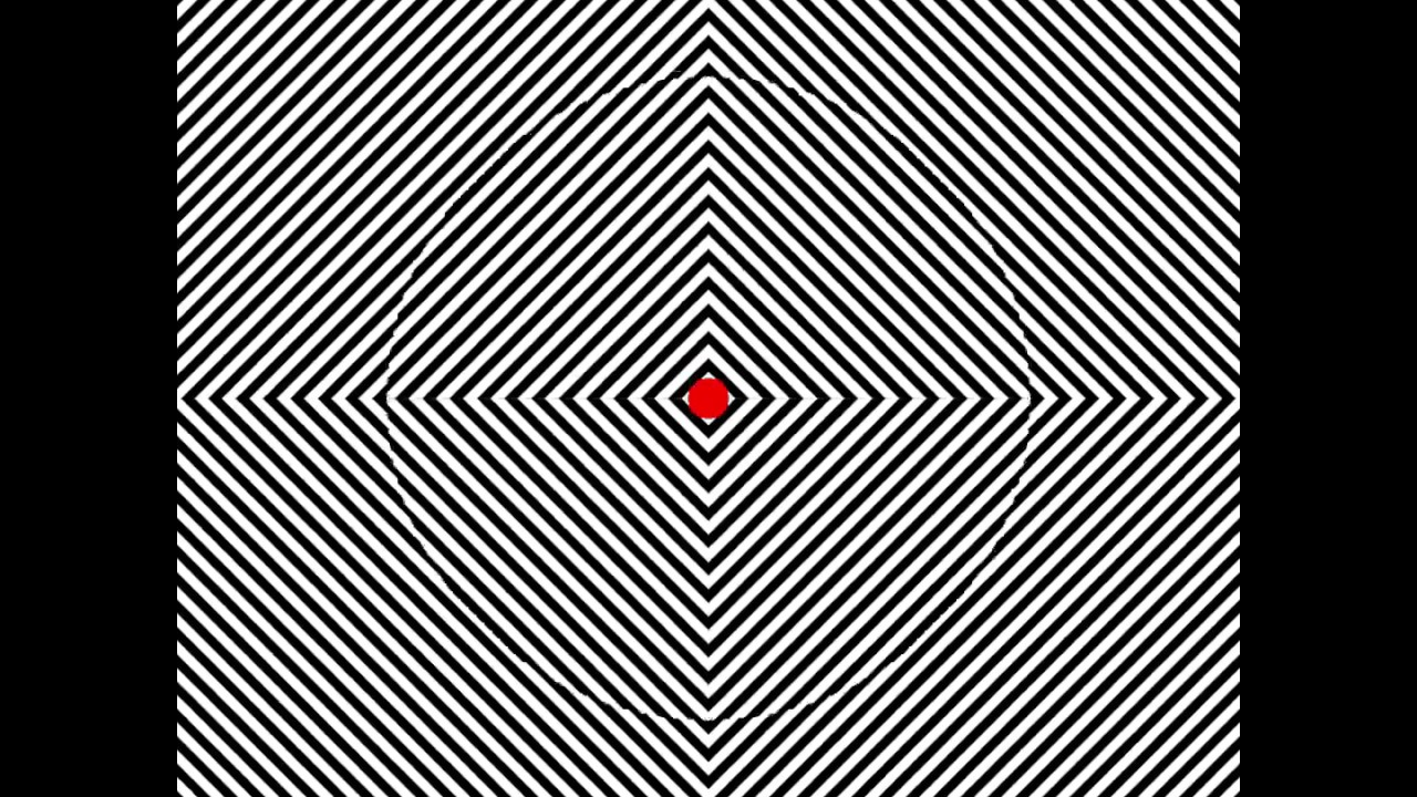 картинки смотришь на две точки сразу, что создаем