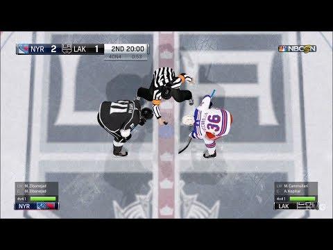 NHL 18 - Los Angeles Kings vs New York Rangers - Gameplay (HD) [1080p60FPS]