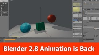 Blender 2.8 Features : Animation