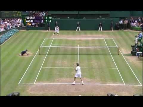 Federer VS Nadal - Wimbledon 2006 Final (HD)