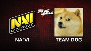 DreamLeague Season 1 Na`Vi vs Team Dog