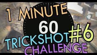 obey teds 1 minute trickshot challenge 6 ft fazeblaziken
