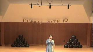 Chinese singing Indian Hindi song