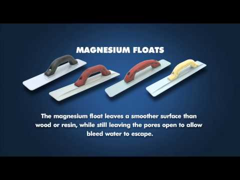 Hand Floats Wood Magnesium Resin