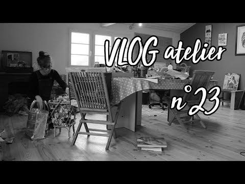 VLOG Atelier N°23 : Nuage, Attrape-rêve Et Atelier.