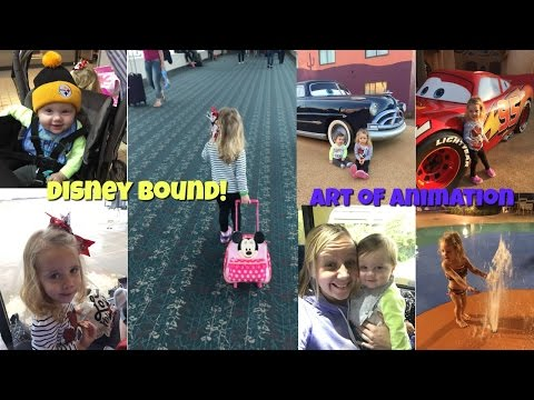 Disney World 2017 Day 1, Travel Day, Art of Animation, Finding Nemo Suite