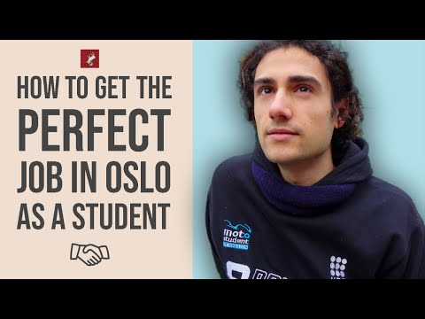 How To Get Work In Oslo, Norway As A Foreign Student