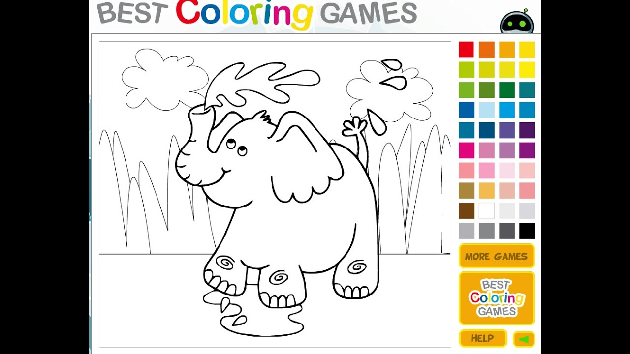 Free Animal Coloring Pages For Girls - Animal Coloring Pages - YouTube