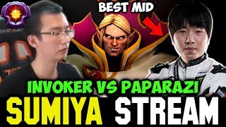 SUMIYA vs PAPARAZI the Best Midlaner | Sumiya Invoker Stream Moment #294