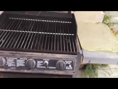 Brinkmann BBQ Rebuild - Burner Replacement