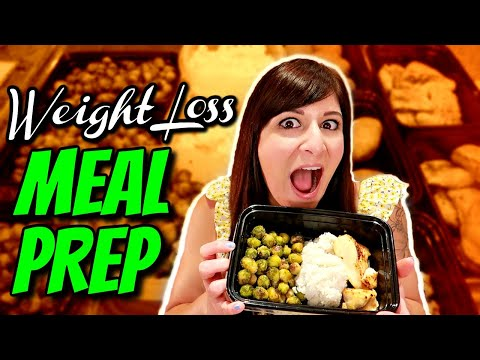 I Lost 130 Pounds With This EXACT WEEKLY MEAL PREP (REALISTIC & CHEAP)