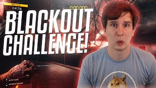 Black Ops 3: Blackout Challenge! (Expert Free Run Map Gameplay)