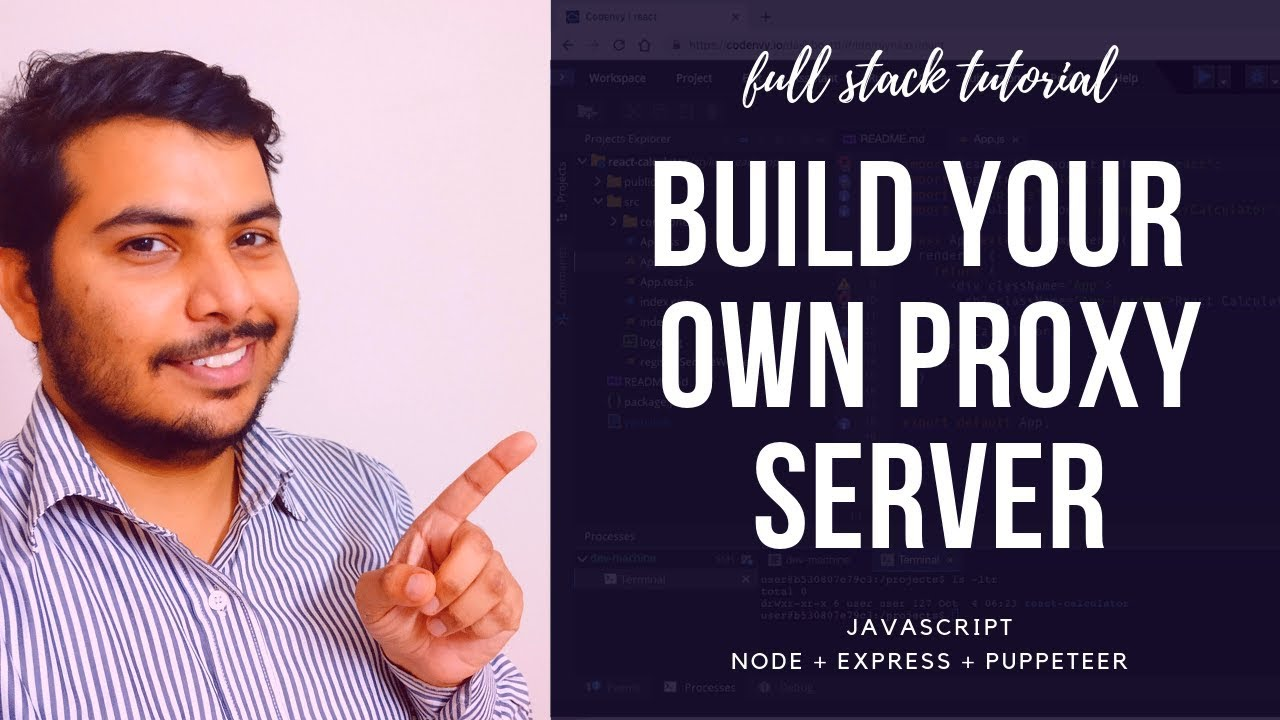 Build A Proxy Server With Node, Express & Puppeteer