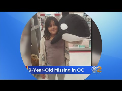 Search Underway For 9-Year-Old Girl Missing In OC