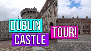 DUBLIN CASTLE TOUR!! + I LOST IT? DUBLIN IRELAND TRAVEL VLOG! DUBLIN IRELAND VLOG! CRUISE VLOG 2017!
