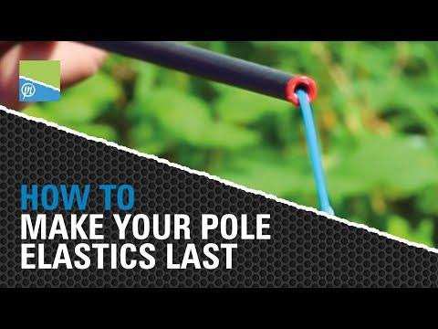 How To Make Your Pole Fishing Hollow Elastics Last Longer!