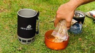 Outdoor Frühstück selber machen