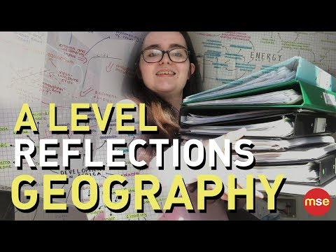 Geography A Level Review Vlog   Eduqas Geography   Revision Tips   A Level Exams   Year 13  