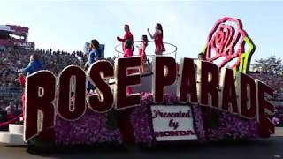 2018 Tournament of Roses Parade Off-Camera Footage